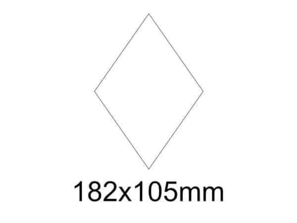 Old English diamond floor tiles