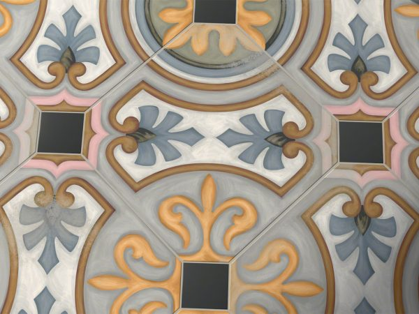 Georgian Octagon Porcelain Kitchen Tiles