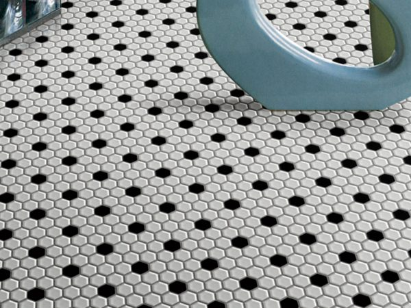 Shapes Mosaic Floor Tiles