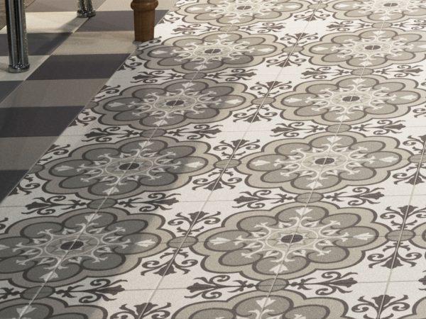 Deco Fiorella Kitchen Floor Tiles