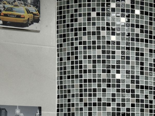 Glass Bathroom Mosaic Tiles
