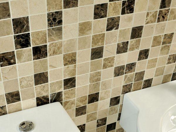 Beige Mosaic Tiles