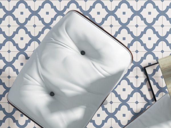 Palmette Porcelain Kitchen Tiles
