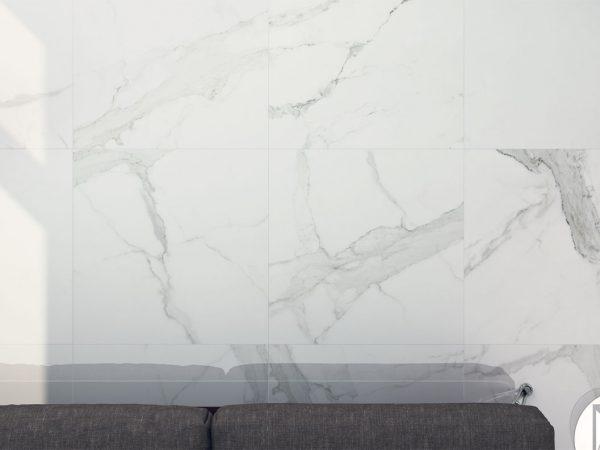Marmo Bardiglio Large Format Floor Tiles