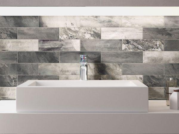 Country Brick Bathroom Wall Tiles