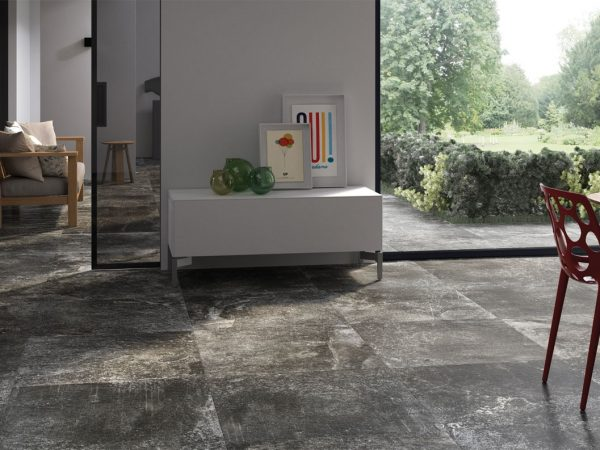 Fusion Stone Bathroom Floor Tiles