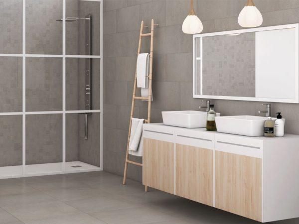 Revive Concrete Porcelain Kitchen Tiles