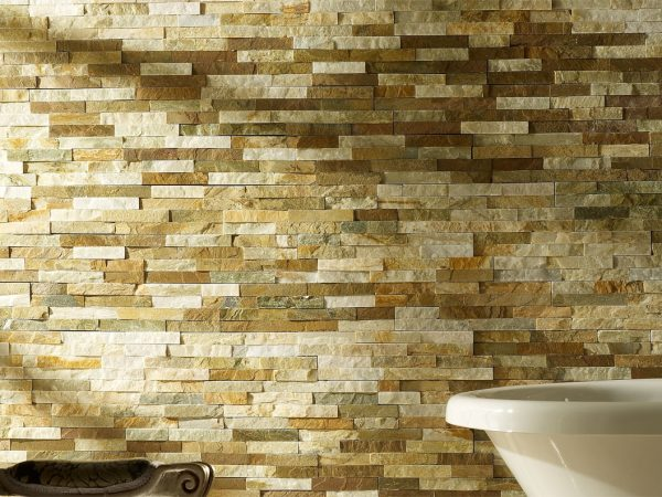 Geo Splitface Stone Kitchen Wall Tiles
