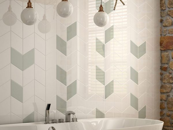 Rhombus Kitchen Wall Tiles