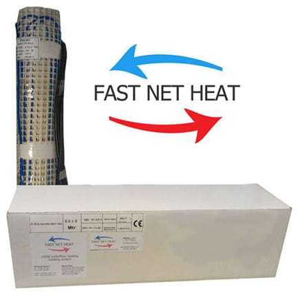 Fast Net Heat Matting 3 Sqm  (1.8 Amp)