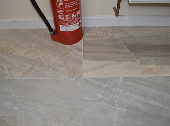 Omega Grey Wall or Floor Tile 400x600x10mm