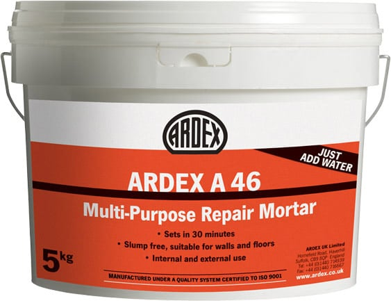 Ardex A46 Multi Purpose Repair Mortar 5kg