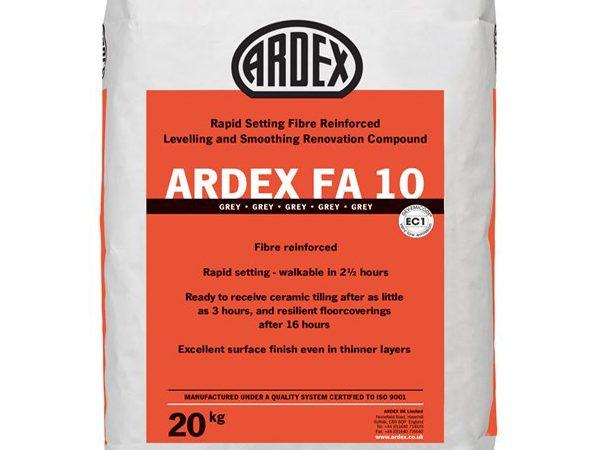 ARDEX FA10 Fibre Reinforced Leveller 20KG