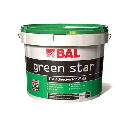 Bal Ready Mixed Green Star  Wall Adhesive 15k