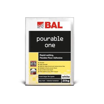 Bal Pourable One Rapid Flexible Floor Adhesiv