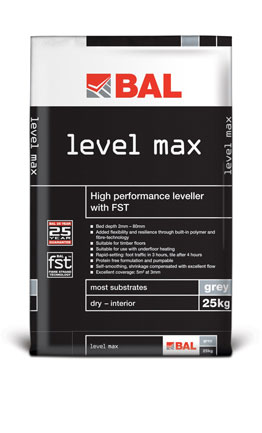 Bal Level Max Floor Levelling Compound 25kg