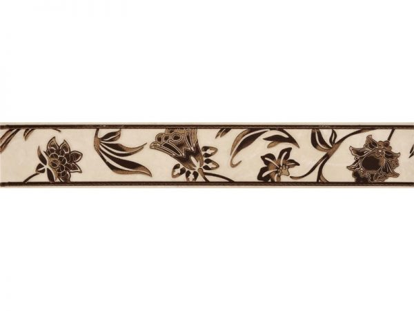 Amber Floral Border 400x50x8.5mm