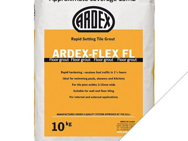 Ardex FL (Floor) Grout Brilliant White (10kg)