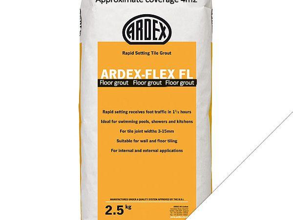 Ardex FL (Floor) Grout Brilliant White (2.5kg