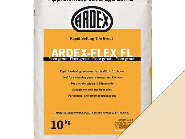 Ardex FL (Floor) Grout Classic Vanilla (10kg)