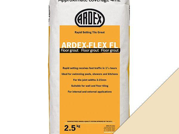 Ardex FL (Floor) Grout Classic Vanilla (2.5kg