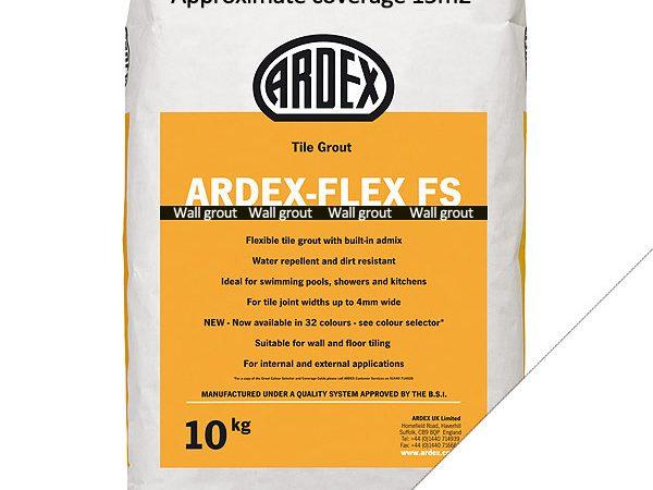 Ardex FS (Wall) Grout Brilliant White (10kg)