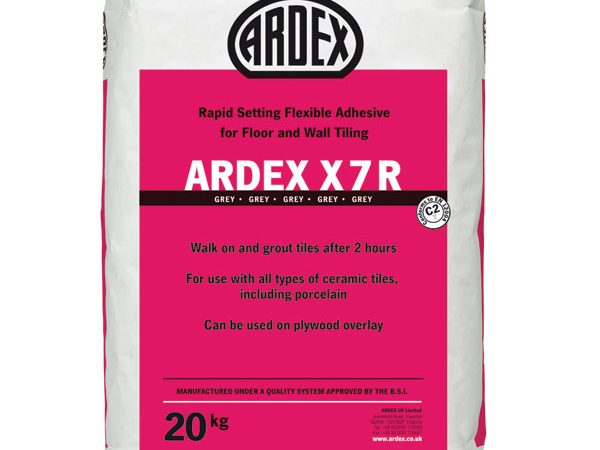 Ardex X7r Flexible Rapid Grey Floor 20kg Bag