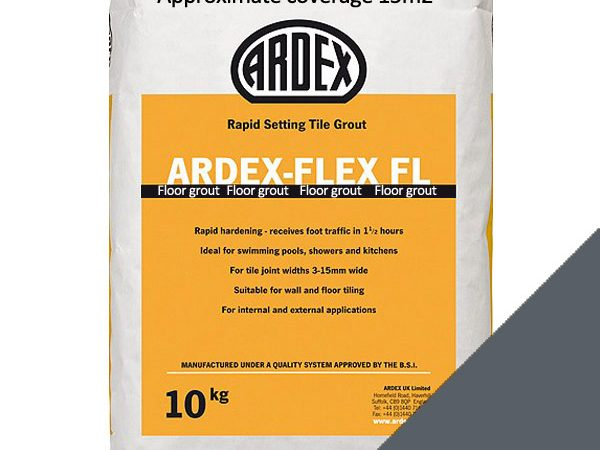 Ardex FL Floor Grout Cast Iron (10kg)