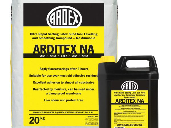 Arditex NA Grey Self Leveller & Liquid 20kg