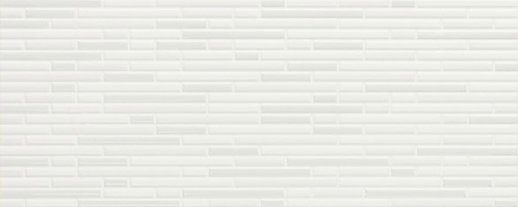 City white wall tile 200x500x8.5mm