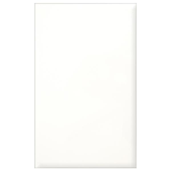 Arctic Flat Matt finish white tile 250x400x9m