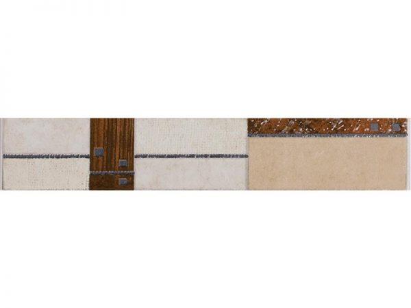 Art Dark Beige Border Tile 45x333x8mm