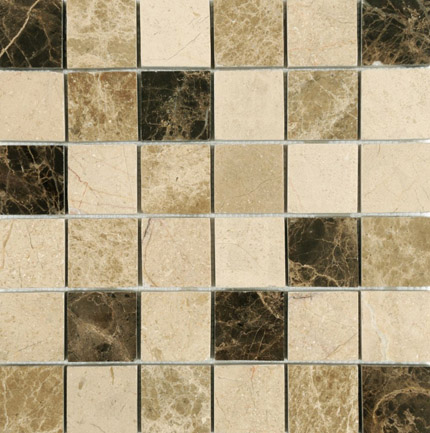 Mosaic Sheet Polished Paris Beige 48x48