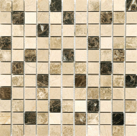 Mosaics Marble Paris Polished Beige 23x23
