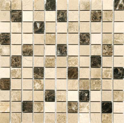 Mosaics Marble Paris Polished Beige  23x23