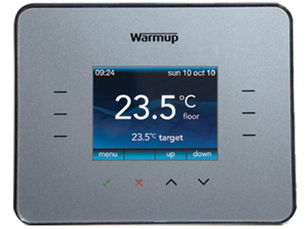 Warmup 3ie Thermostat Silver (3iESG)
