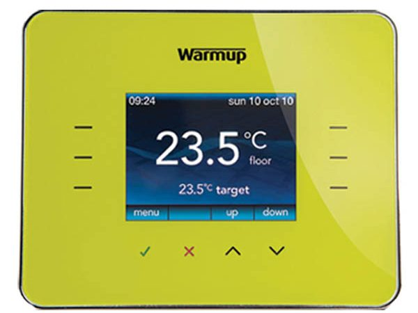 Warmup 3ie Thermostat Leaf Green (3iELG)