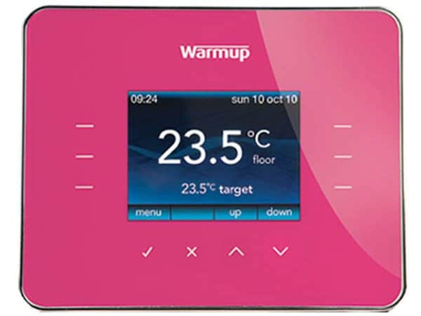 Warmup 3ie Thermostat Deep Pink (3iEDP)