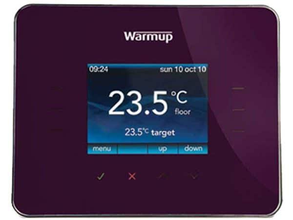 Warmup 3ie Thermostat Wild Berry (3iEWB)