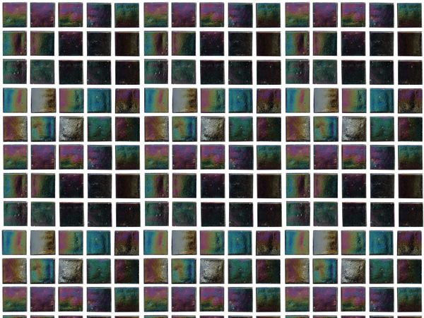 Mosaic Lustre Pearl Pearlescent Black