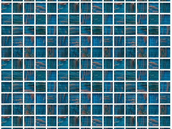 Mosaic Jewel Aqua