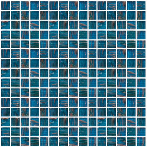 Mosaic Jewel Aqua
