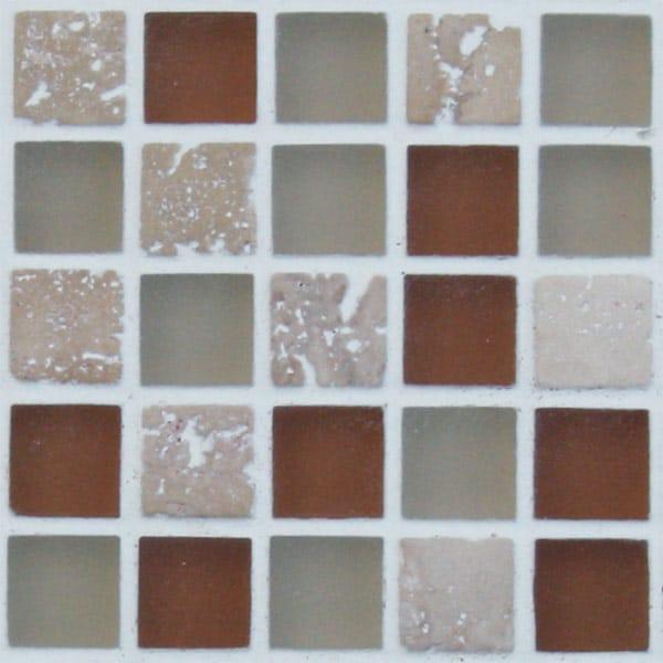 Mosaics Elegant Desert Sand Square