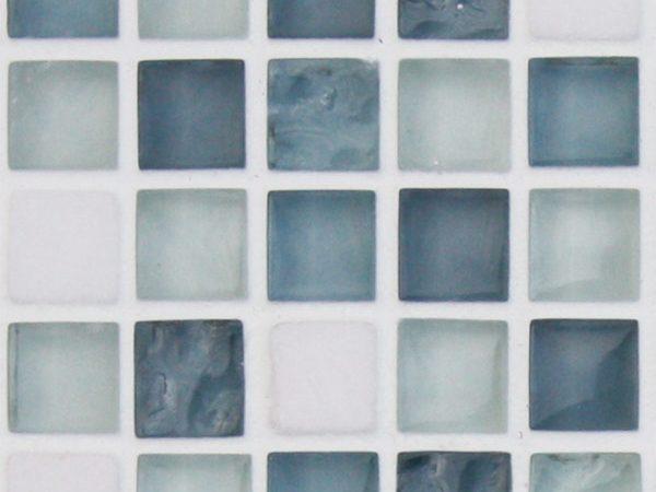 Mosaics Elegant Ice Cube Square