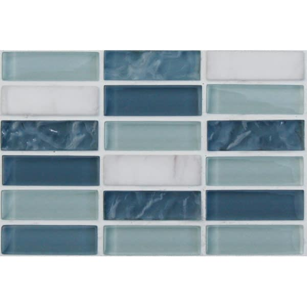 Mosaics Elegant Ice Cube Rectangle
