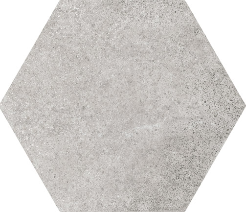 Hexagon Cement Grey floor 175x200x8mm