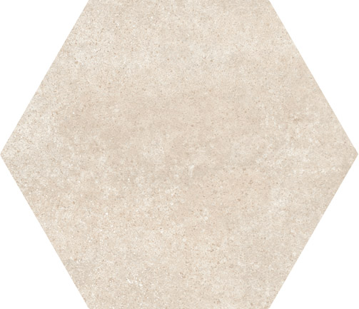 Hexagon Cement Beige floor 175x200x8mm