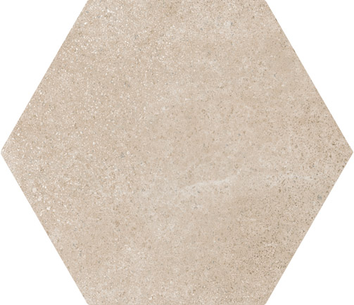 Hexagon Cement Dark Beige floor 175x200x8mm