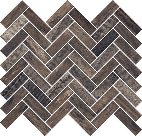 Thicket Black Mosaic 320x285x10mm