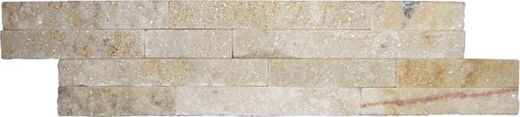 Split Face Bricks - Sand 100 x 400 x 9/15mm